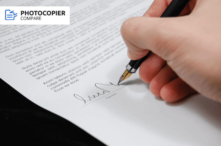 photocopier rental contract